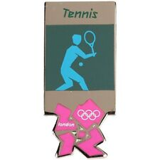 2012 London Olympics official pictogram TENNIS pin/badge-mint in package