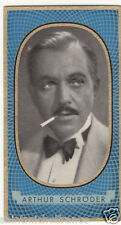 ARTHUR SCHRÖDER ACTEUR ACTOR GERMANY DEUTSCHLAND ALLEMAGNE   IMAGE CARD 30s