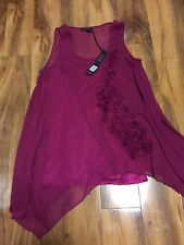 David Emanuel Ladies Tunic  Size 16,BNWT