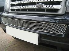 Chrome Bentley style lower MESH GRILLE for Range Rover Sport front bumper grill