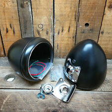 HEADLIGHT PAIR VTG STYLE FLATHEAD RAT HOT ROD CUSTOM LIGHT TROG LIGHTS SPEEDSTER