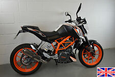 KTM 390 Duke 13-16 SP Engineering Polished Stainless Round Moto GP XLS Exhaust