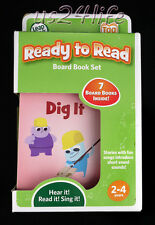 LEAP FROG TAG JUNIOR JR Ready To Read SEVEN (7) Board Book Set AGE 2-4 Years NIB