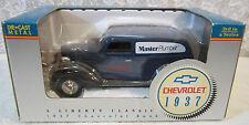 1937 Chevrolet DieCast Metal Bank Car Master Plumber True Value + Key 3rd Series