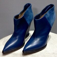 Bally Ladies Leather & Suede Ankle Boots Brand new UK6.5