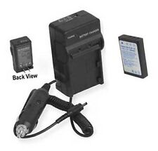 Battery + Charger for Pentax Optio 555 750 750RS 750Z