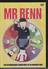 Mr Benn - 5 episodes : Red Knight, Caveman, Diver, Cowboy, Spaceman NEW R2 DVD