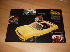 1976 77 78 Ford Mustang II Vintage Advertisement Magazine Ad FREE SHIPPING