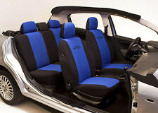 SET OF BLUE HIGH QUALITY SEAT COVERS PROTECTORS FOR KIA RIO