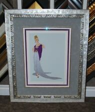 "Erte Signed L/ED Serigraph Titles ""At the Ball"" Gorgeous Custom Frame WOW!"