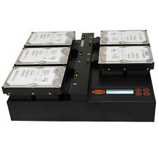 SySTOR Flatbed 1-4 SATA 150MB/sec Multi HDD/SSD Hard Drive Duplicator Copier