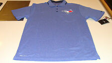 2014 Toronto Blue Jays MLB Baseball Authentic Collection XL Dri Fit Players Polo