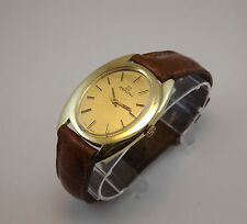 ZENITH OROLOGIO UOMO ORO 18 KT MEN GOLD WRIST WATCH