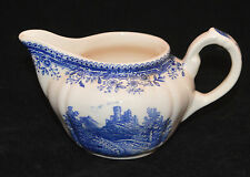 VILLEROY & BOCH CREAMER BURGENLAND BLUE BROWN BACKSTAMP