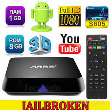 M8S+ Plus Fully Loaded Quad Core Android 4.4 Smart TV Box Media Player 8GB A#5