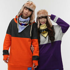 Color Mix Hoodie Snowboard Cotton Tall Hoodies