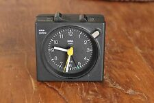 Vintage Braun AG Voice Control Travel Alarm Clock Model 4745 / AB40 Rare
