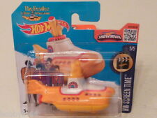 HOT WHEELS 1/64 THE BEATLES YELLOW SUBMARINE