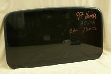 1997 Acura CL 3.0 2 door  Honda Sunroof Glass  ** Free Shipping!