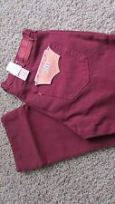 NEW LEVIS 501 STRAIGHT LEG BUTTON FLY JEANS MENS 38X30 RED 005011570 FREE SHIP