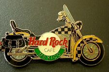 HRC Hard Rock Cafe Mexico checkered Harley Saddlebag Motorcycle LE2000