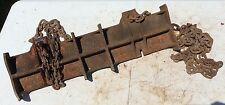 WELDING PIPE CLAMP, #2 JEWEL MFG CO # 2  PIPE CHAIN VISE