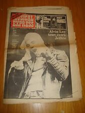 NME 1974 OCTOBER 19 ALVIN LEE EMERSON LAKE PALMER GONG BAD COMPANY ROXY MUSIC