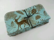 """Cloth Wipes 20 Baby Flannel 8""""x8"""" Boy Deer Rustic Woodland Outdoor Nature Family"""
