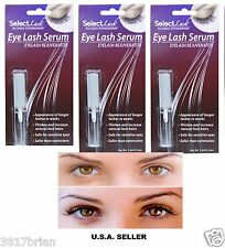 3 SELECT LASH GROWTH SERUM LENGTHENING THICKER LONGER EYELASHES Extension