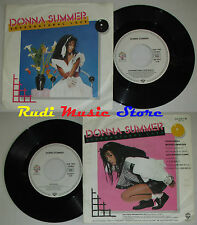 LP 45 7'' DONNA SUMMER Supernatural love Suzanna 1984 germany WARNER cd mc dvd
