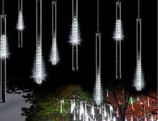 30cm waterproof led meteor shower snowfall Rain 8 Tube Xmas light Tree Outdoor ""