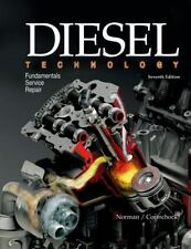 DIESEL TECHNOLOGY - Used HARDCOVER BOOK