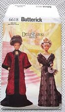 """6618 SEWING PATTERN~UNCUT~BARBIE """"DELINEATOR"""" VICTORIAN DOLL CLOTHES:CIRCA 1908"""