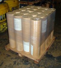 """LOT of 20 Roll Kraft Paper 40 pound Weight 1225 ft Length 36""""  Natural Color"""