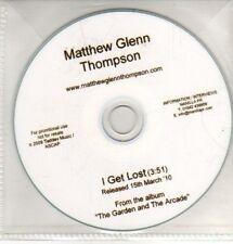 (CQ351) Matthew Glenn Thompson, I Get Lost - 2010 DJ CD