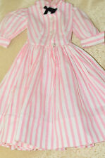 "Vintage 21""in. 1950s Madame Alexander Cissy Tagged Dress VGC"