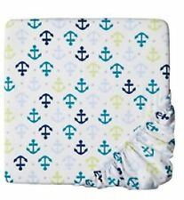 CIRCO Fitted Crib Sheet Whales n Waves Nursery Toddler bed anchor New Baby Boy