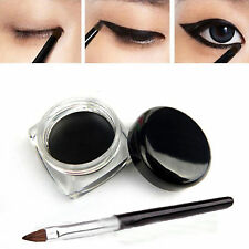 New 1Pc Waterproof Eye Liner Eyeliner Gel Cosmetic Black Makeup Brushes Tools