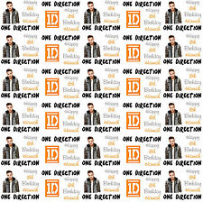 Personalised Gift Wrapping Paper Music ONE DIRECTION LIAM Birthday 2015