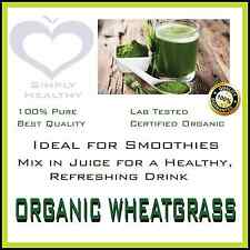 ORGANIC WHEAT GRASS 100g POWDER CERTIFIED QUALITY PROMOTION -WITH TRACKING