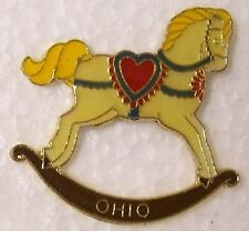 Hat Lapel Pin Scarf Clasp Animal Hobby Horse  NEW