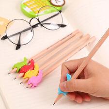 5stk Bleistift Stift Halter Schreiben Training Kinder Schule Schreibhelfer
