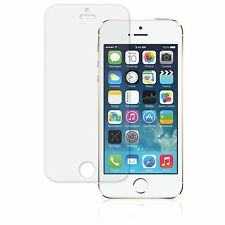 2x TRANSPARENTE PROTECTOR PARA PANTALLA LCD SEGURO APPLE IPHONE ORIGINAL 5S 5 5C