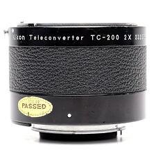Nikon 2x TC-200 Teleconverter