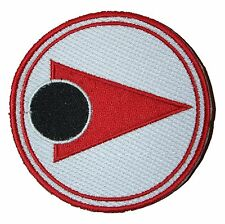 Alpha Moonbase Space 1999 Astronauts Embroidered Patch Badge 9cm Iron or Sew on
