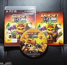 Ratchet And Clank All 4 One (Sony PlayStation 3, 2011) PS3 - Very Good condition