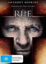 The Rite - Anthony Hopkins R4 DVD NEW
