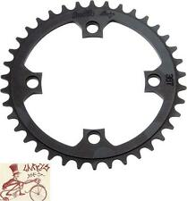 PROFILE RACING 4-BOLT 104MM 44T BLACK BMX BICYCLE CHAINRING