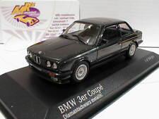 """Minichamps 431024002 # BMW 3 Series (E30) Baujahr 1989 """" Diamantschwarz """" 1:43"""