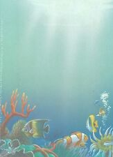 Decadry OPF-3629 Sea World Fish Themed A4 Letterhead Writing Paper